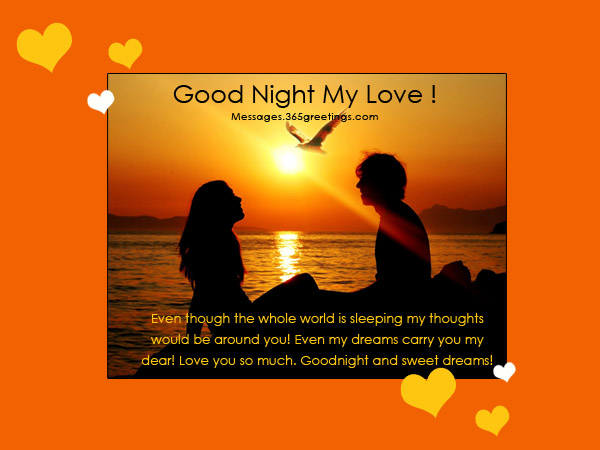 Good night for lover with his her and my name wishes greeting m4hsunfo Image collections