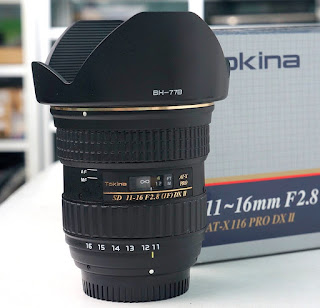 Lensa Tokina 11-16 Pro (IF) DX2 Second