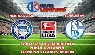Prediksi Bola Hertha Berlin vs Schalke 26 Januari 2019