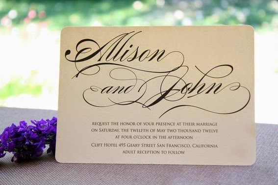 Elegant Inexpensive Wedding Invitations: Cheap Wedding Invitations