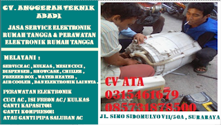 Jasa Service Mesin Cuci Daerah Sidoarjo