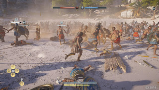 Assassin's Creed Odyssey Review-fighting