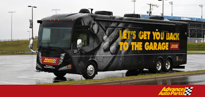 Advance Auto Parts REV IT UP! Tour RV - #nascar