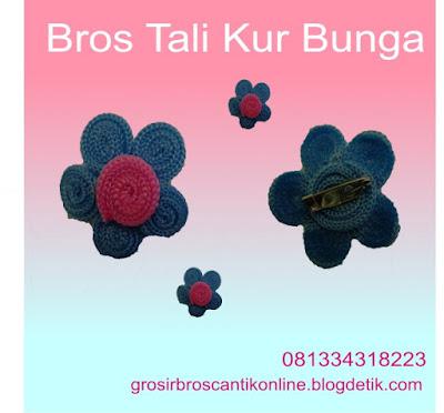 Bros Cantik Handmade, Bros Cantik Handmade Modern, Bros Jilbab, 081-334-318-223