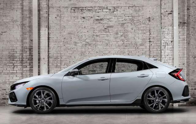 2017 spesifications  Honda Civic Hatchback