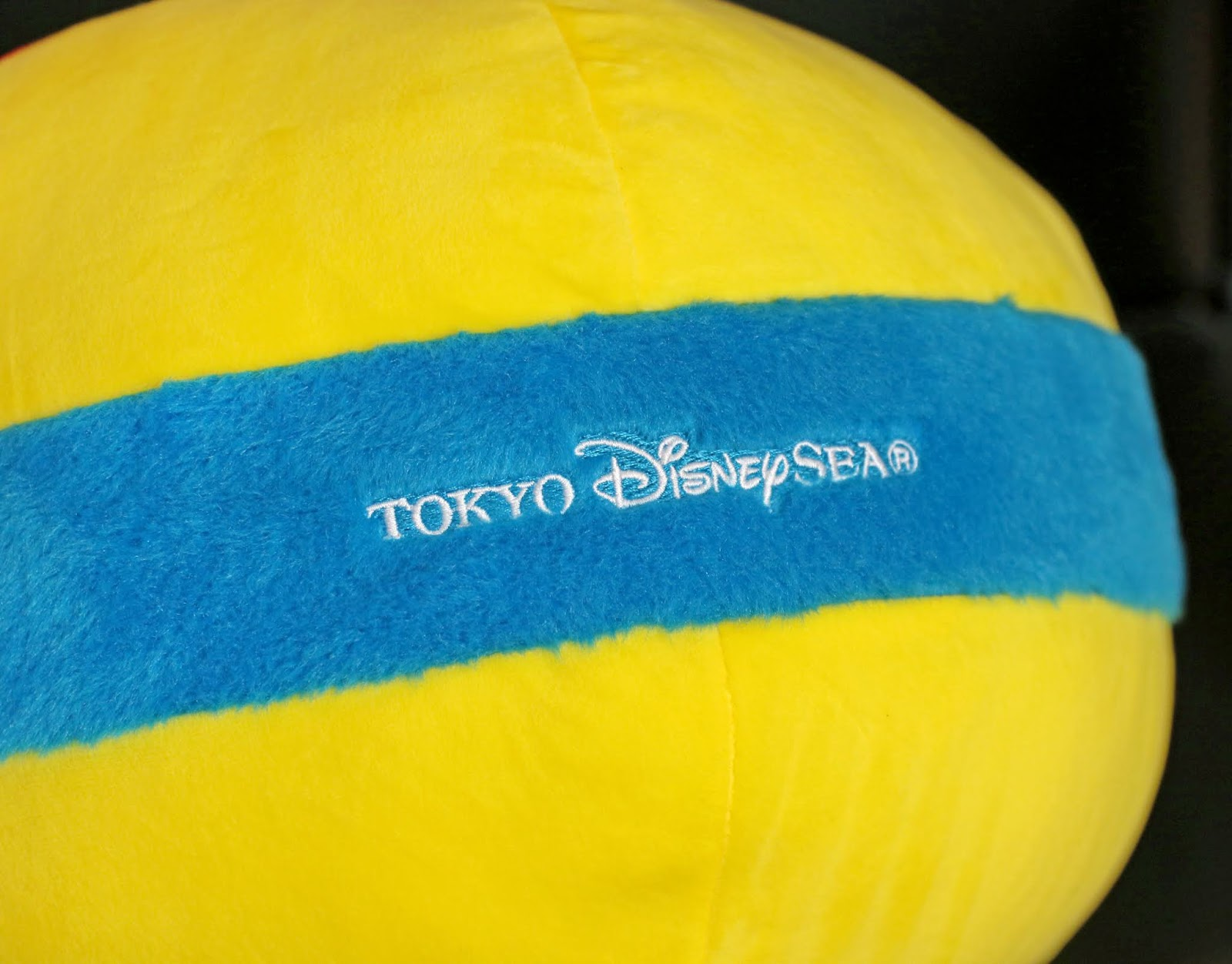 pixar ball cushion pillow disney tokyo sea