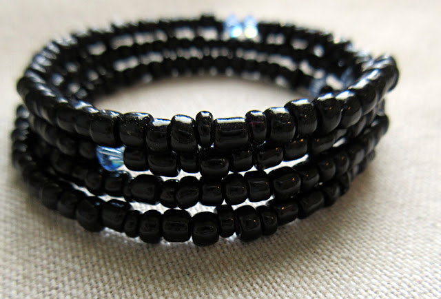 Sciart jewelry bracelet chemistry Avogadro black blue Swarovski bracelet