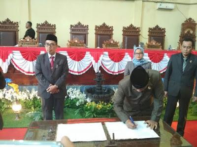 DPRD Gelar Paripurna LKPJ Bupati Lampung Timur TA 2017