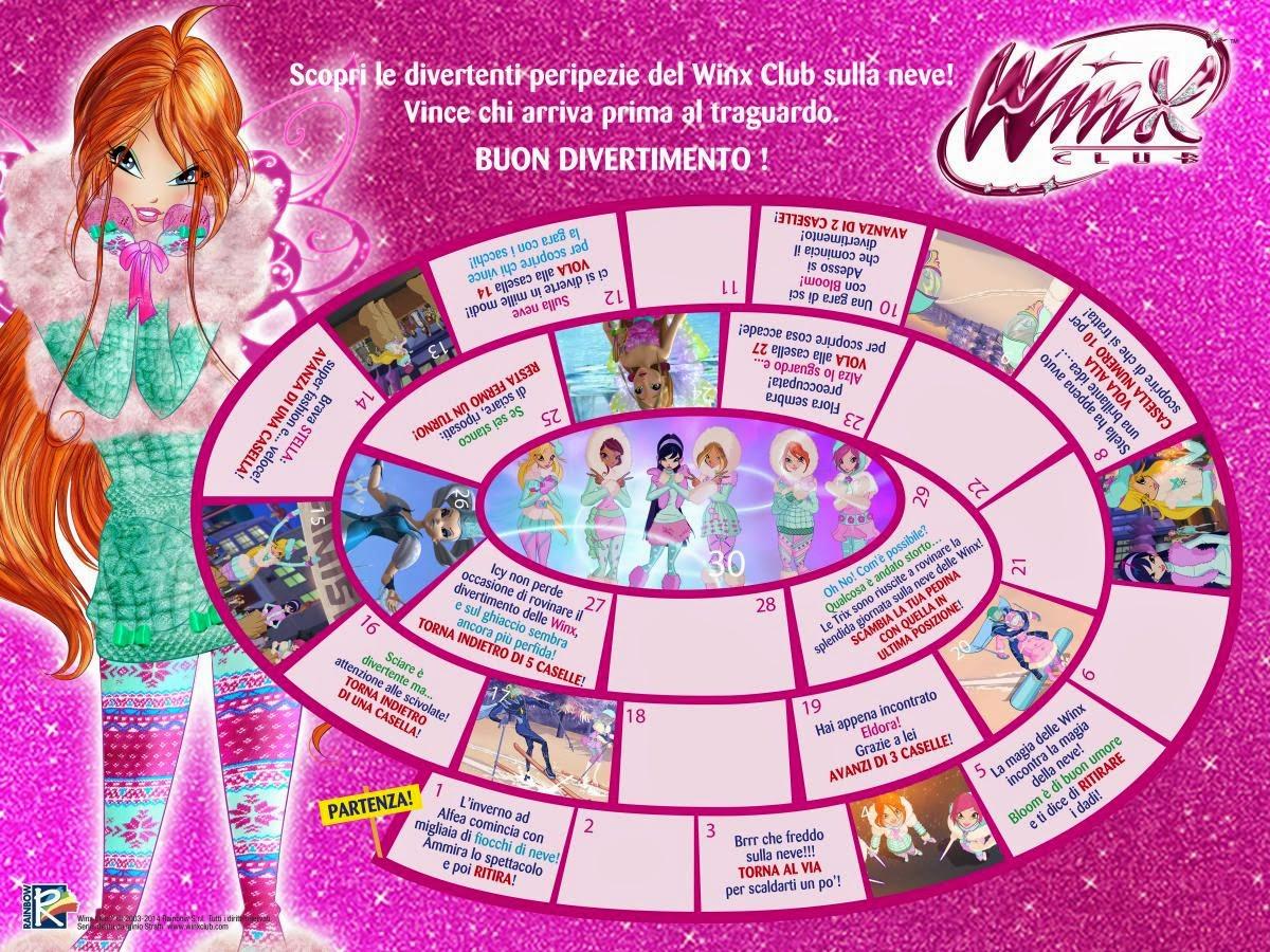 Winx Club: Gioco Dell'oca
