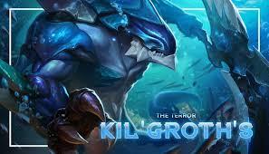 Build dan Cara Menggunakan Hero Kil'Groth, The Terror AOV