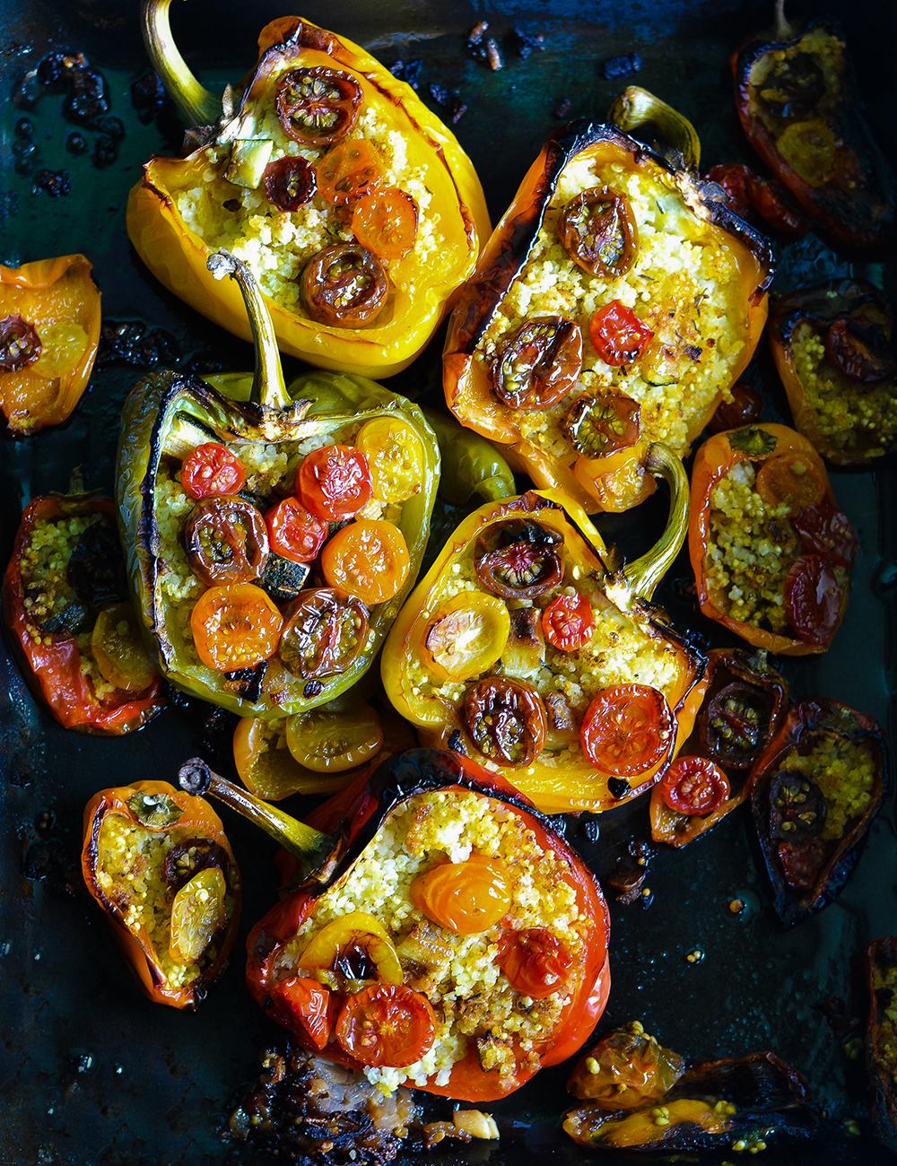 Eine schöne gefüllte Paprika - Tierfreitag