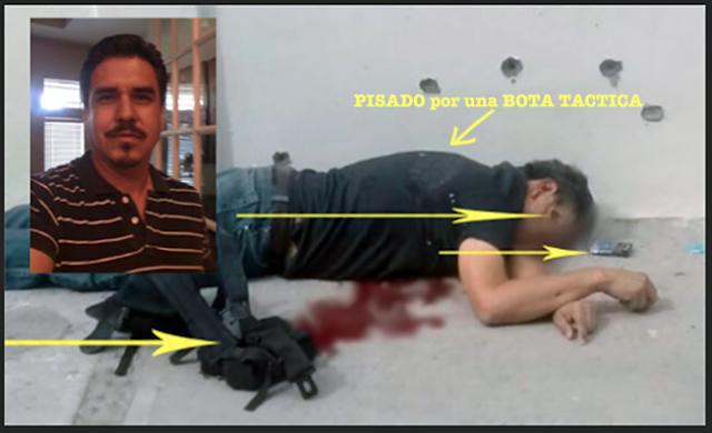 """Yo no soy, yo no soy, soy  inocente gritaba desarmado y """"polinegros"""" lo fusilaron a quemarropa y lo pisotearon ya muerto"""