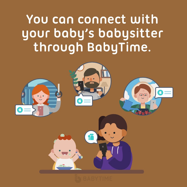 connect babysitter, doctor and parent