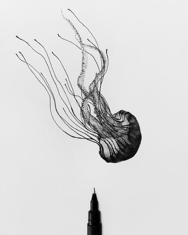 08-Jellyfish-Rostislaw-Tsarenko-www-designstack-co
