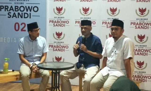 Cucu Pendiri NU Resmi Jadi Juru Bicara Pasangan Prabowo-Sandi