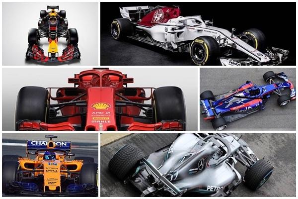 Guía Fórmula 1 2018