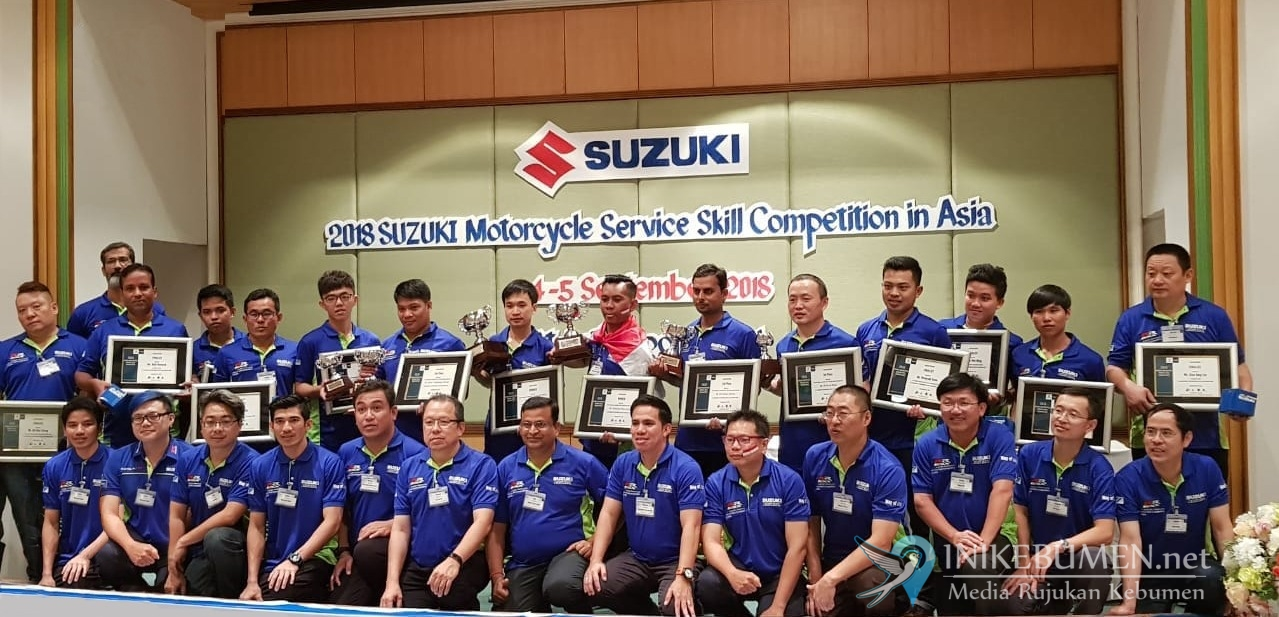 Perwakilan Suzuki Indonesia Jadi Mekanik Terbaik se-Asia