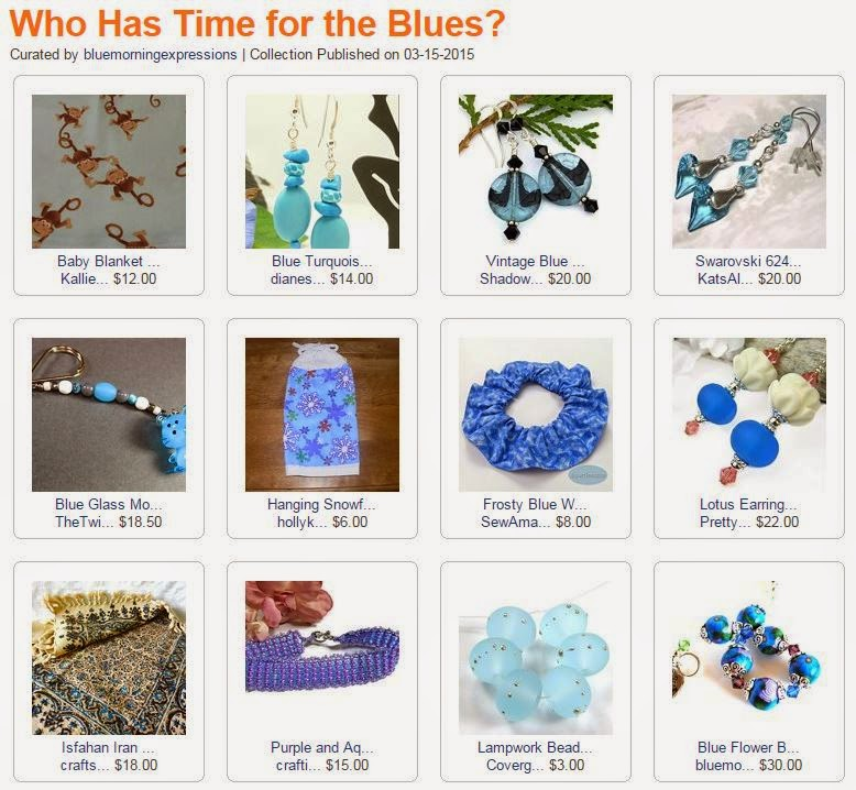 Who Has Time for the Blues by BlueMorningExpressions on ArtFire