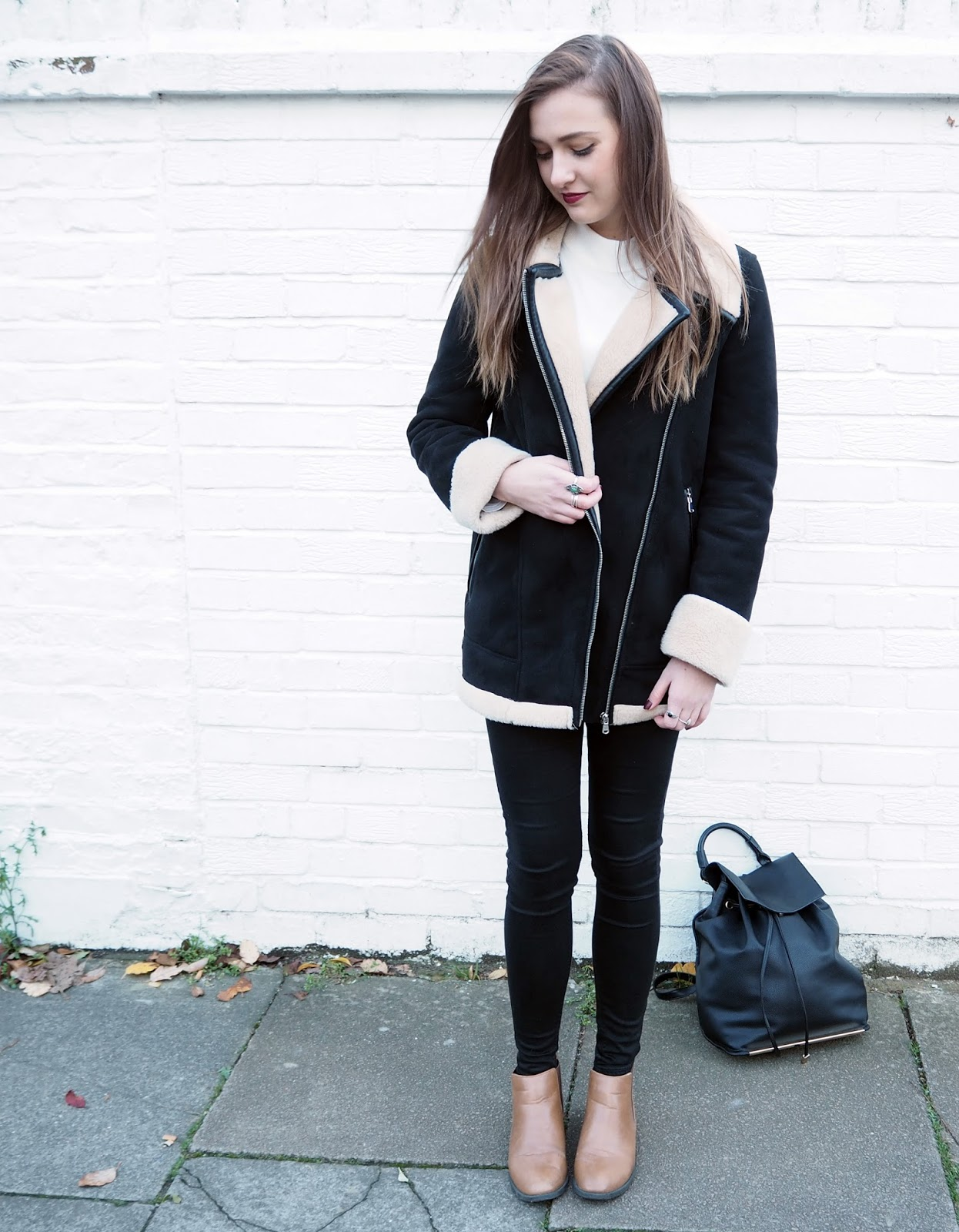 The Shearling Aviator Coat Of Dreams // Lauren Rose London Fashion, Style & Lifestyle blogger // Lauren Rose Bell // ZARA OOTD WIWT