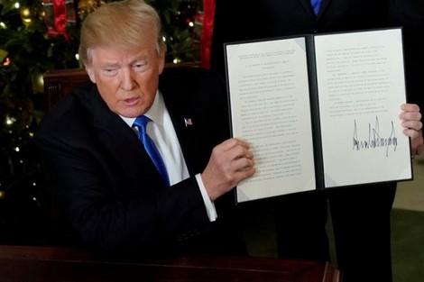 الجهوية 24 - قرار ترامب حول القدس يثير موجة استنكار عالمية