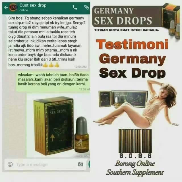 germany sex drops   mengembalikan kehangatan malam pertama