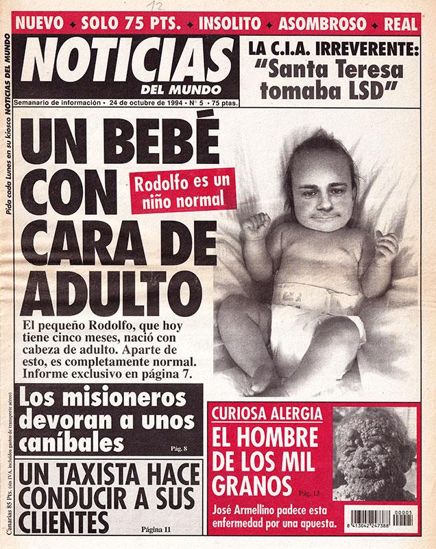 Periódico Noticias del Mundo Número 5