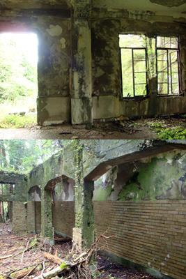 愛宕山廃墟