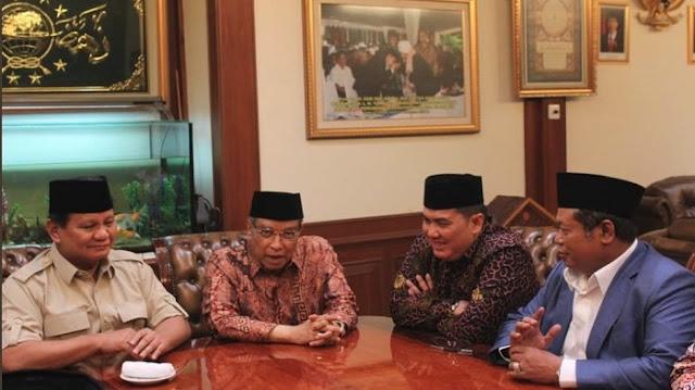 Prabowo usai Bertemu Said Aqil dan Jajaran PBNU: Kalau Dapat Kawan Baru, Kawan Lama Jangan Dilupakan