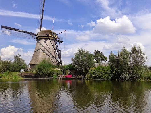 Our European Vacation {Day 9 - Kinderdijk}