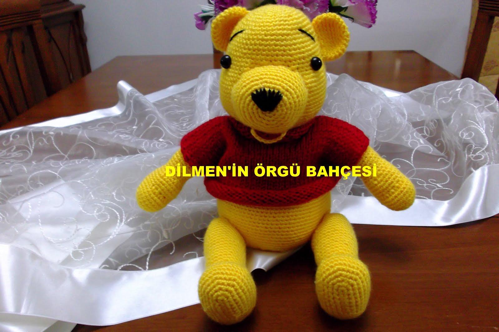 Amigurumi Winnie The Pooh Yapılışı - Amigurumi Winnie The Pooh ... | 1067x1600