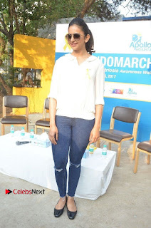 Actress Rakul Preet Singh at Endometriosis Awareness Walk at Apollo Cradle  0090.jpg