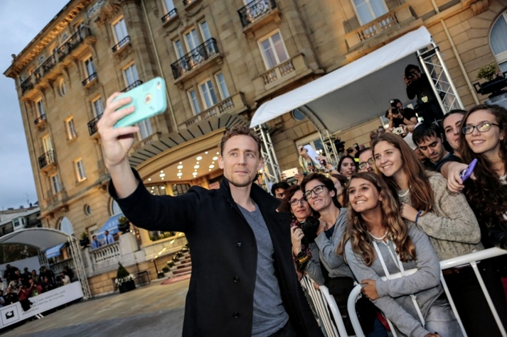 Tom Hiddleston en Donostia