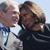 MPNAIJA GIST:'She kind of likes my sense of humor' - George Bush explains his fondness for Michelle Obama