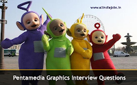 Pentamedia Graphics Limited Interview Questions