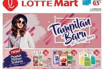 Promo Katalog LOTTEMART 3 - 16 Januari 2019