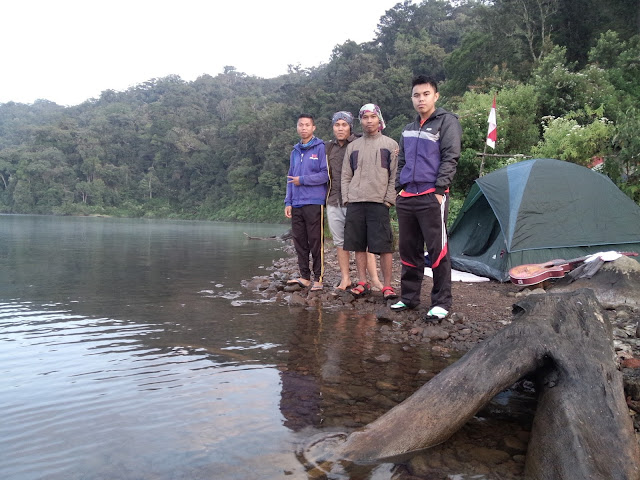 Gunung Tujuh Lake In The Morning