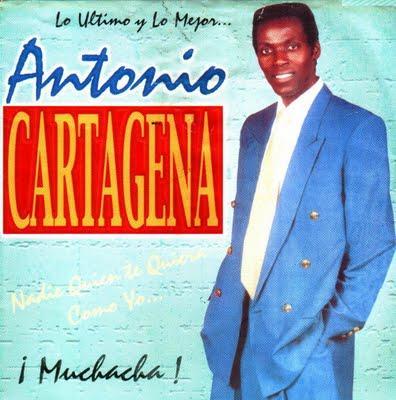 Foto de Antonio Cartagena en portada de disco