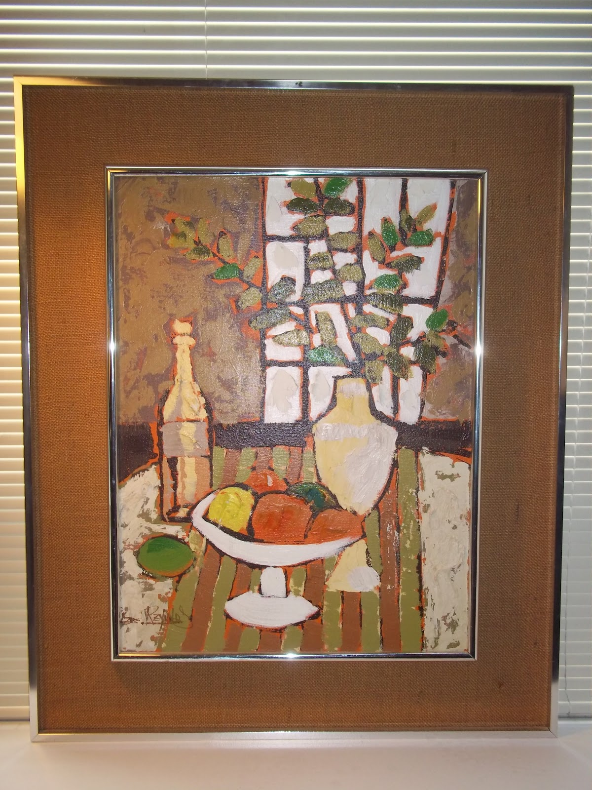 Modern20 Lee Reynolds Mid Century Production Painting