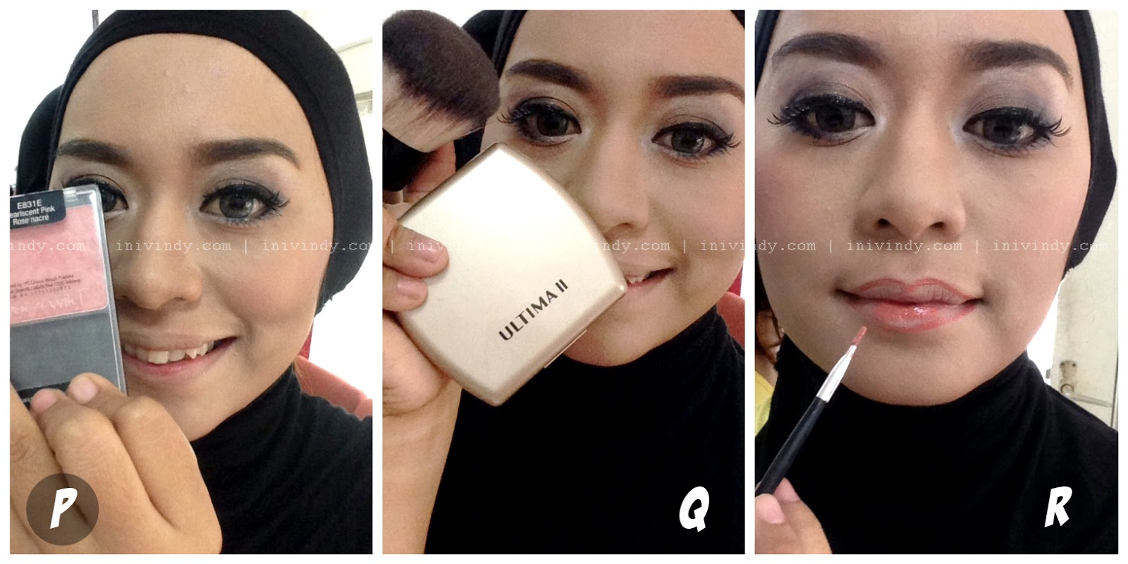 Ini Vindy Yang Ajaib Tutorial Make Up Natural Dan Hijab Wisuda Ala