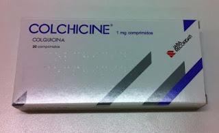Colchicina no tratamento da gota