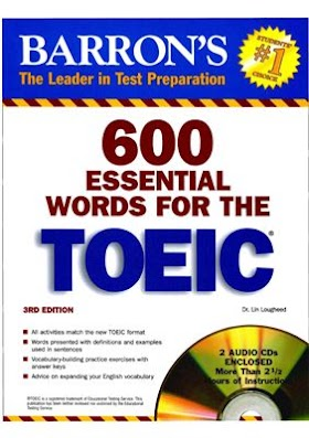 600 Essential Words for the TOEIC test (3RD Edition) PDF + Audio Free Download