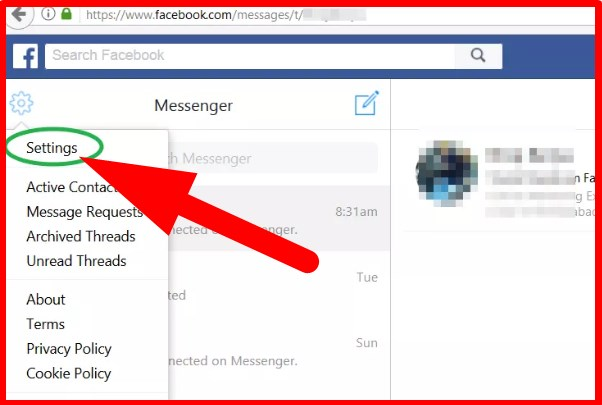 How to be invisible on facebook messenger