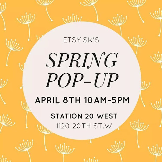 Etsy SK Spring Pop-Up