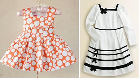 baju dress untuk anak perempuan