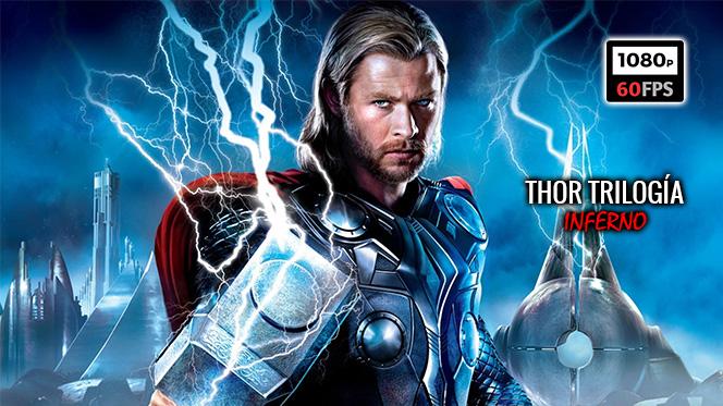 Thor: Trilogía (2011-2017) BDRip 1080p 60fps Español Latino-Castellano-Inglés
