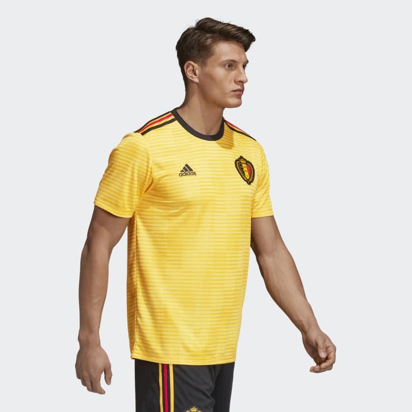 Kits Jersey Away Tandang Belgia Piala Dunia 2018