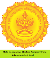 State Cooperative Election Authority Pune Advocate Admit Card
