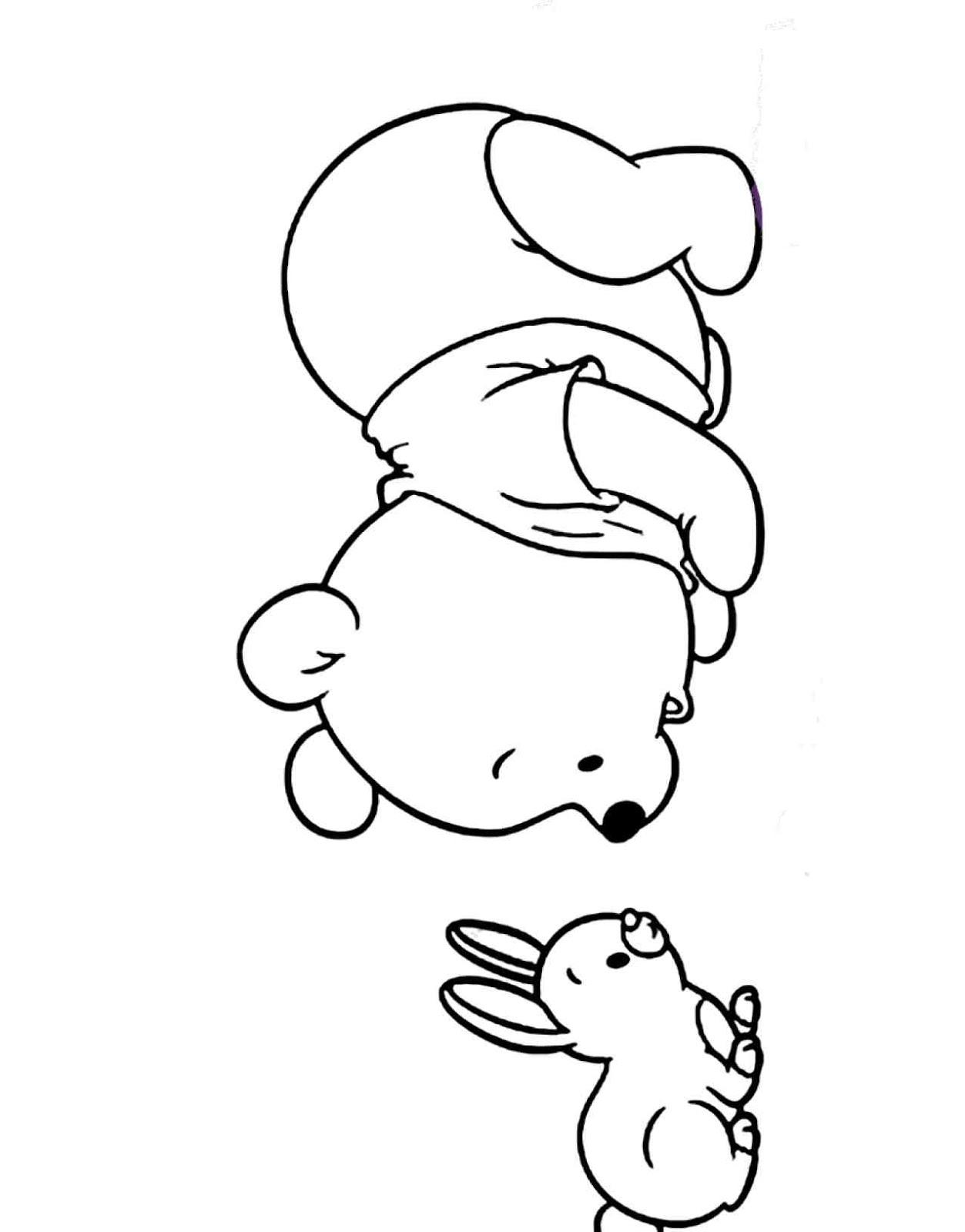 Dibujos Para Colorear Winnie Pooh Y Sus Amigos - páginas ...