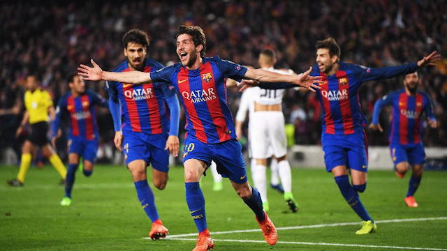 Dramatis! Barcelona Menang 6-1 atas PSG dan Lolos ke Perempatfinal