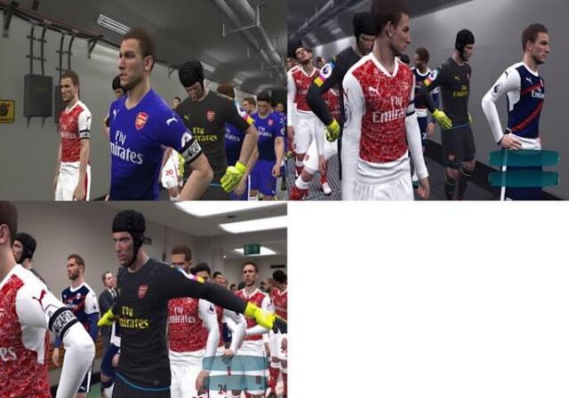 Arsenal Fantasy Kit PES 2017